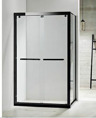 CLEARANCE Melbourne 1200x900mm • SOFT-CLOSING DOUBLE SLIDING SHOWER SCREEN