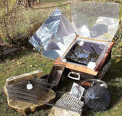 All American Sun Oven Christmas Holiday Package Solar Energy Cooking Made In USA