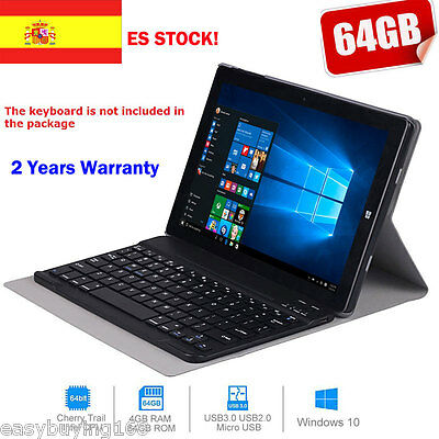 "4G+64GB CHUWI Hi10 IPS 10.1"" Windows 10 Quad Core 1.84GHz Tablet PC WIFI 2Cámara"