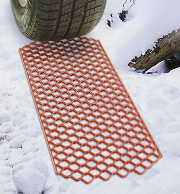 Summit Snow Grabber Traction Mats / Car Tyre Snow Ice Mat Heavy Duty - Pack Of 2