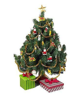 Queens Treasures Christmas Tree Ornament Set fits American Girl Doll Dollhouse