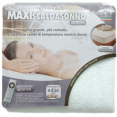 Scaldasonno Scaldaletto Maxi Sensitive Imetec Singolo una piazza N447