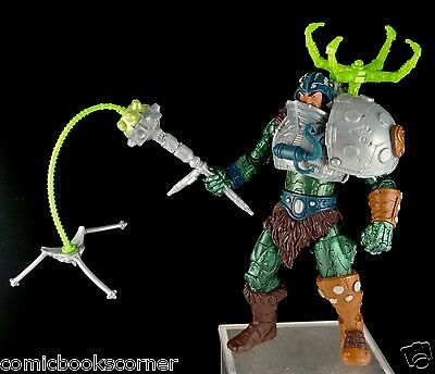 He-Man Masters of the Universe 200X SERPENT CLAW MAN-AT-ARMS 100% Complete MOTU