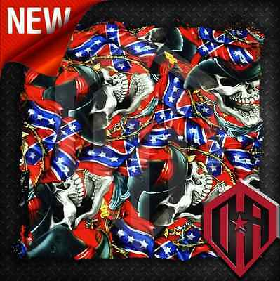 Hydrographic Water Transfer Hydrodipping Film Hydrodip Graphic Skull Flag Skulls