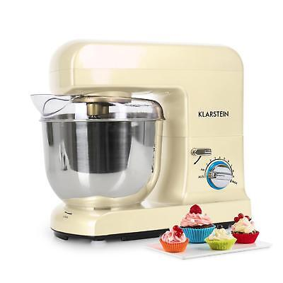 1000W Food Processor Machine Dough Mixer Kneading Whisk 5L Stainless Steel Creme