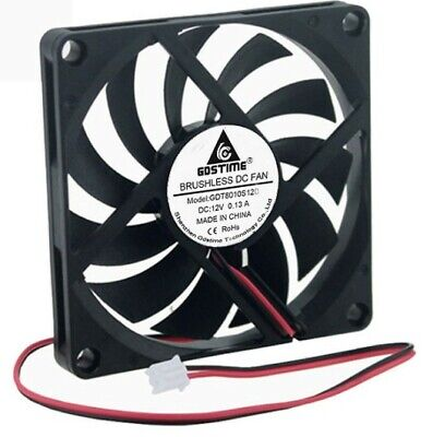 ventilateur fan brushless 80x80x10 12v dc 3d print cnc