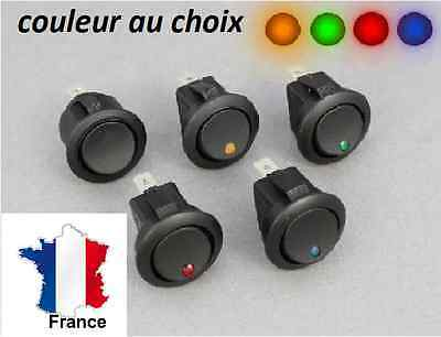 interrupteur à led 12V 16 Amp