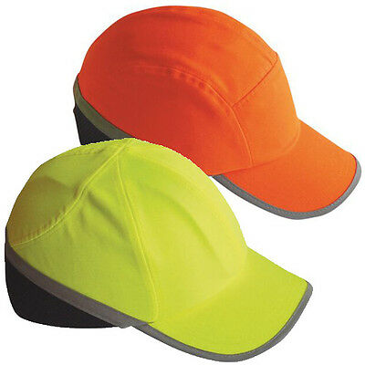 Portwest Hi Vis Safety Bump Cap Base Ball Hat Hard Hat Head Protection PW79