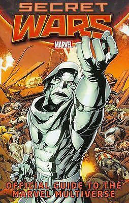 Secret Wars - Official Guide To The Marvel Multiverse - 2015