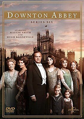 DOWNTON ABBEY DOWNTOWN ABBEY COMPLETE SEASON SERIES 6 DVD Region 4 New