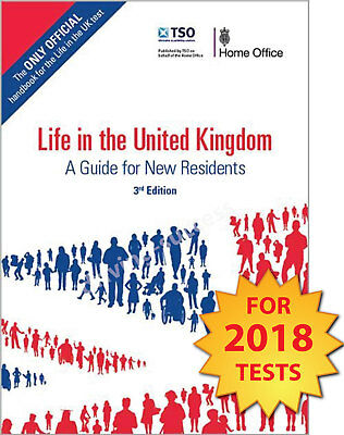 Life in the United Kingdom UK Handbook 3rd Edition Citizenship Test Book