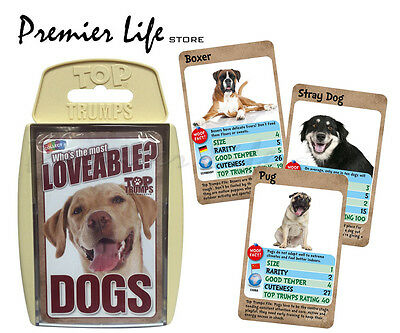 Top Trumps - Loveable Dogs
