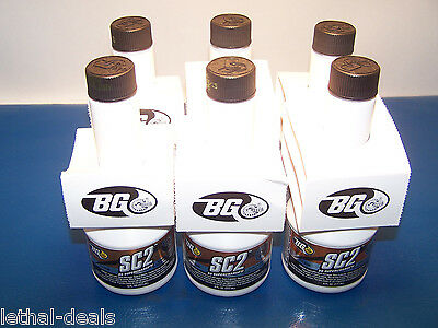 BG SUPERCHARGE 2 Fuel Injector Cleaner (6) Bottles SC2 Fuel Stabilizer #2026