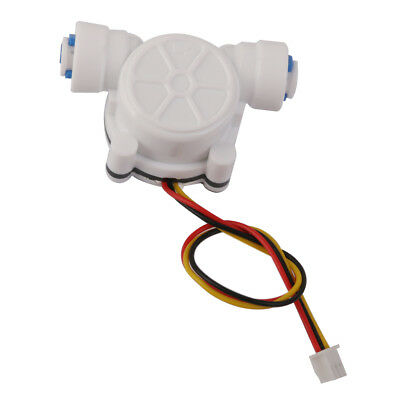 "0.3-10L/min G1/4"" Water Flow Sensor Flowmeter Switch for 6.35mm PE Pipe"