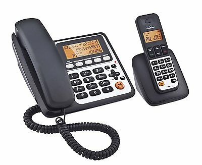 New Binatone Concept Combo 3525 Twin Corded & Dect Phone Answer Machine 10B2713
