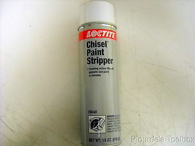 New LOCTITE 16oz Chisel Gasket Paint Stripper Spray, 79040