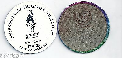 1996 Centennial Olympic Games Collection POG 17 of 20 Seoul 1988