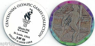1996 Centennial Olympic Games Collection POG 3 of 20 St. Louis 1904