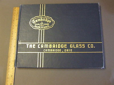 Antique Collectors Reference Book The Cambridge Glass Company