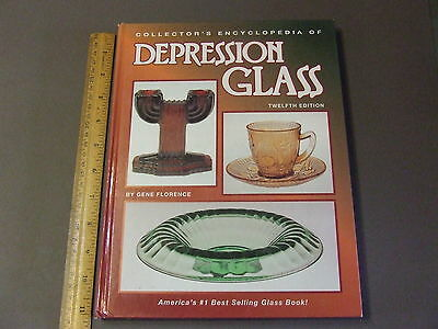 Antique Collectors Reference Book Depression Glass 12 Ed Gene Florence