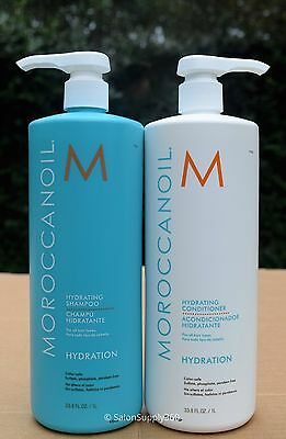MOROCCANOIL Hydrating Shampoo and Conditioner Liter Duo (33.8 ounces each)