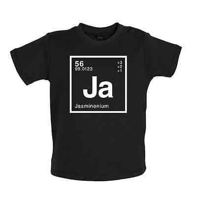 JASMINE Periodic Element - Baby T-shirt - Science / Geek - 8 Colours