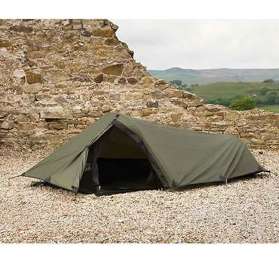 Snugpak Ionosphere One Man Military Army Compact Tent Bivvi Shelter Green NEW UK