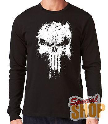 "Camiseta Manga Larga""The Punisher-El Castigador-Ref 1""Long Sleeve"