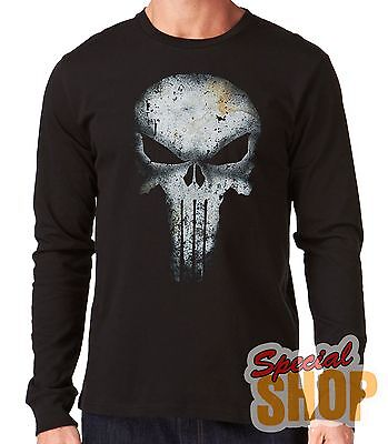 "Camiseta Manga Larga""The Punisher-El Castigador-Ref 2""Long Sleeve"