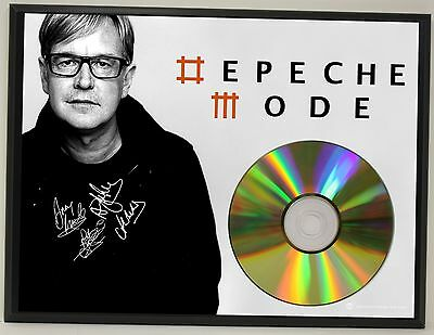 Depeche Mode Ltd Edition Signature Series Picture Cd Display Gift