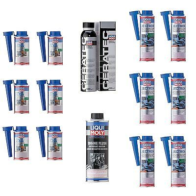 Liqui Moly Gas Engine Renewal Kit Ceratec | Engine Flush | Jectron | Valve Clean