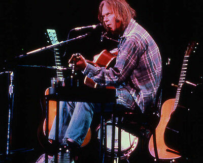 Canadian Singer NEIL YOUNG Glossy 8x10 Photo Music Print Poster
