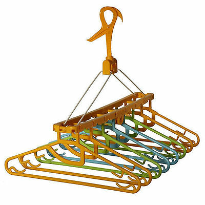 Clothes Hanging Dryer with 8 Hangers