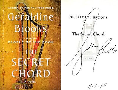 GERALDINE BROOKS~SIGNED & DATED~The Secret Chord~1st/1st + Photos ...