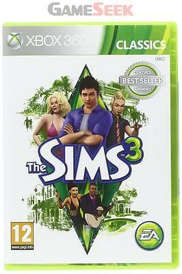 The Sims 3 - Classics - Xbox 360 Brand New Free Delivery