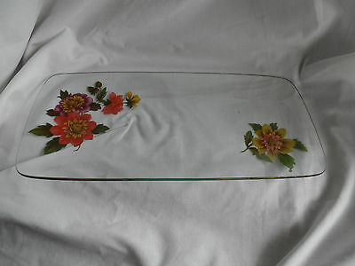 Retro Chance  Glass Dressing Table Tray.