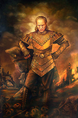 Ghostbusters Vigo Carpathian WALL ART CANVAS FRAMED OR POSTER PRINT