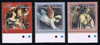 2013 Tonga Christmas Angels Postage Stamp Singles Set