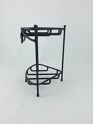 Longaberger Wrought Iron Small Corner Counter Top Stand