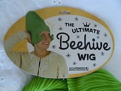 The Ultimate Green Beehive Wig Dress Up Costume Christmas Whoville Halloween