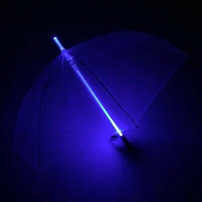 Blade Runner 6 Color Light Saber Star Wars LED Transparent Umbrella  Flashlight