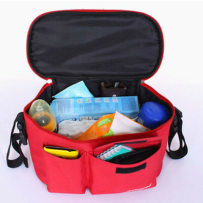 2016  Baby Infant Stroller Organizer Storage Shoulder Bag Baby Diaper Bags