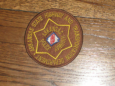 arkansas highway police,arkansas  state hwy and transportation dept, nos, 80's