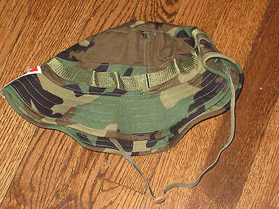 BOONIE,WOODLAND,NEW,PROPPER 7.5,100% cotton ripstop