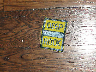 deep rock, gas station. patch,60's,set of 2