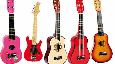 GUITAR children kids musical instrument guitars red E-guitar