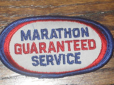 "marathon ""guaranteed service"",patch 60's new old stock"
