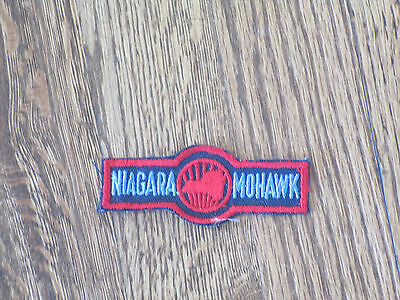 niagra mohawk  , patch,power company, new old stock, 60's