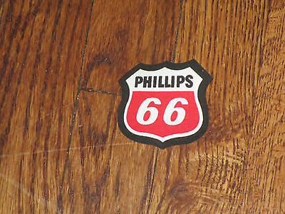 phillips 66, iron on patch, nos,1980's,set of 2