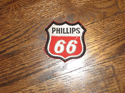 "PHILLIPS  66  patch,70's,new old stock, red  backround,1.75"" x1.75"""